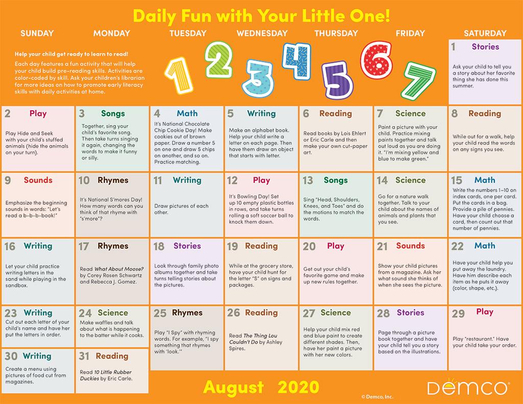 aug activity calendar image